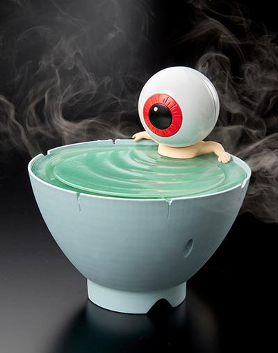 ゲゲゲの鬼太郎 目玉おやじ 茶碗風呂加湿器 製品写真